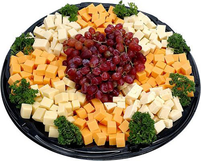 lame cheese plate